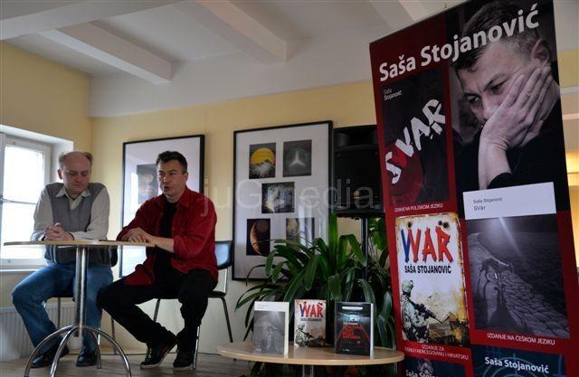 Saša Stojanović u češkom PEN centru
