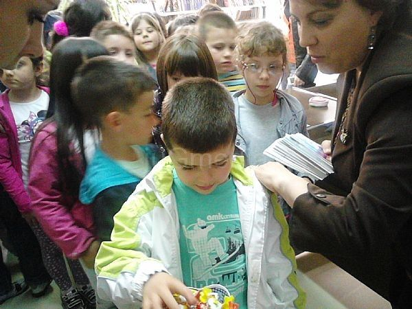Biblioteka otvorila vrata za predškolce