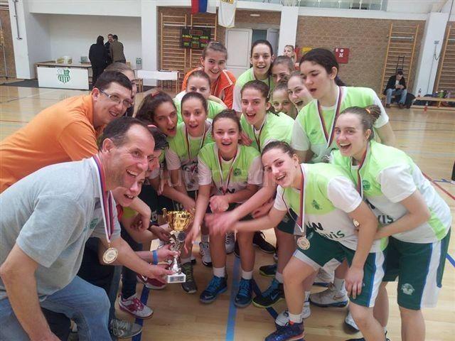 Košarkašice Actavis Akademije vicešampionke Srbije
