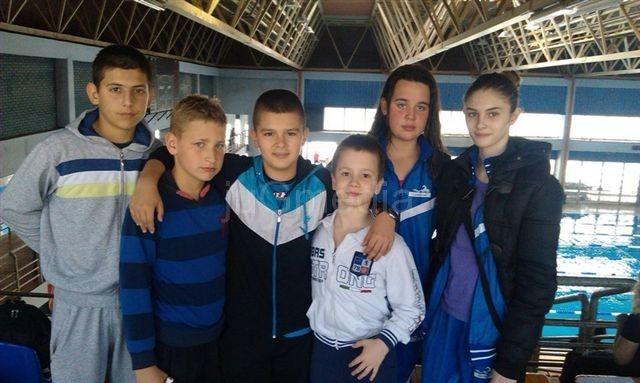 Deset plivača osvojilo devet medalja