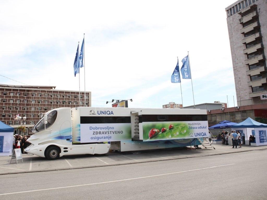 Kamion zdravlja 1. i 2.maja u Nišu