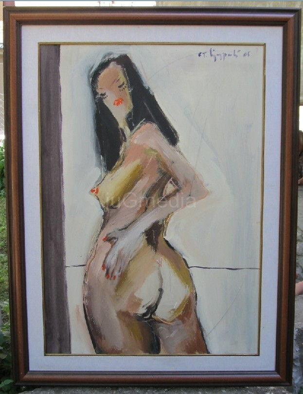 Izlozba erotskih slika u galeriji RAM ART