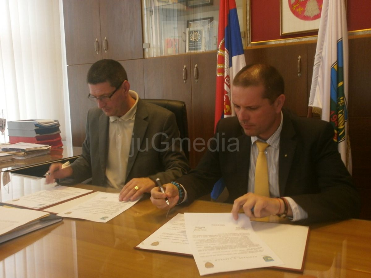 Potpisan ugovor o saradnji sa opštinom Breznik