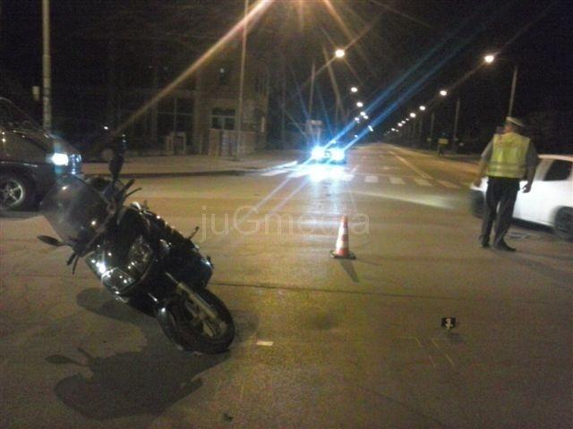 Nastradao motorciklista