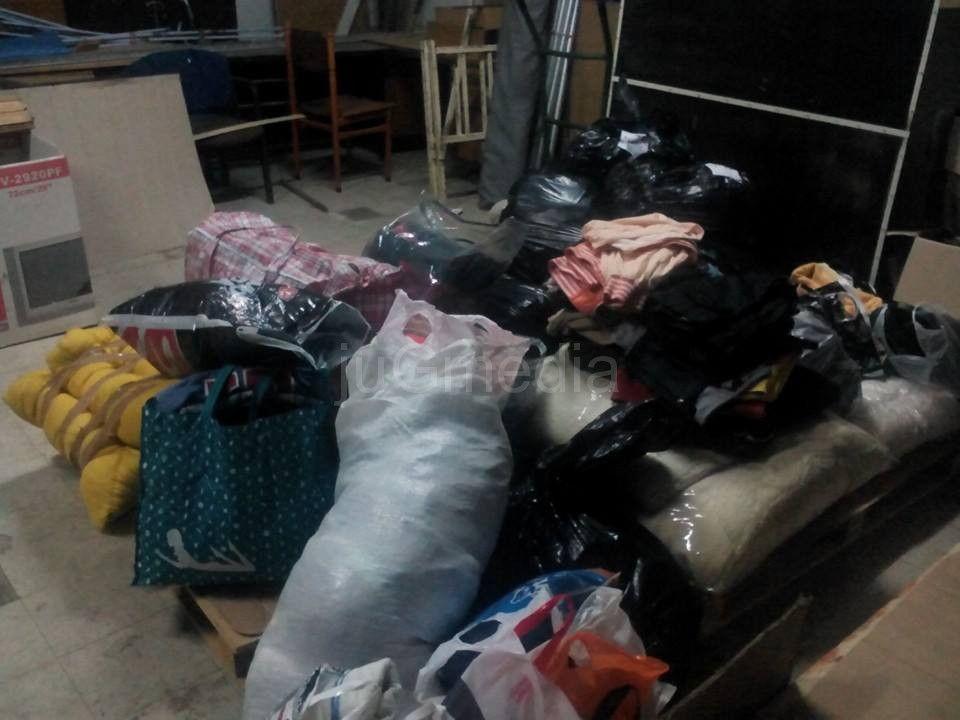 Pomoć se prikuplja na nekoliko lokacija u gradu