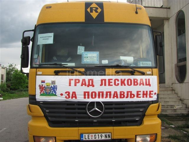 Leskovčani donirali 80 tona hrane i vode