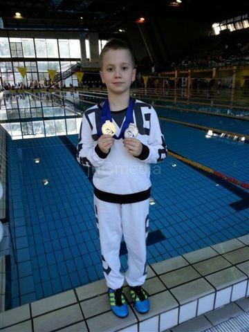 Viktor Dimitrijević osvojio i zlato i srebro