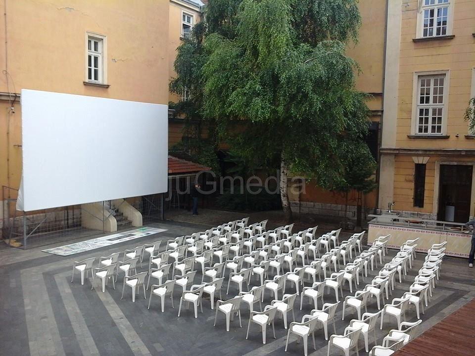 Bioskop na otvorenom u Nišu