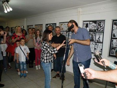 Nagrade za najbolji ''strip kaiš'' Katarini Mičić, Anđeli Jovanović Željku Petroviću