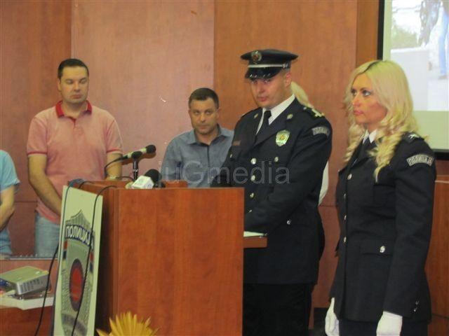 Nagrađeni policajci na Dan policije