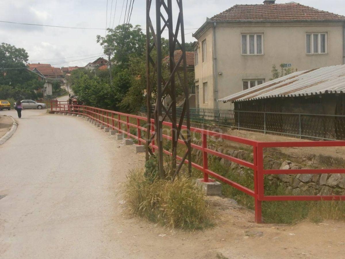 Zaštitna ograda na Šaračkom potoku