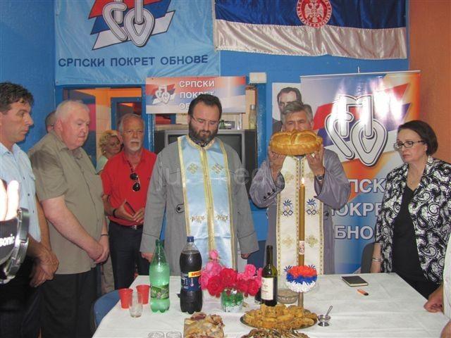 Beseda sveštenika na slavi SPO u Leskovcu
