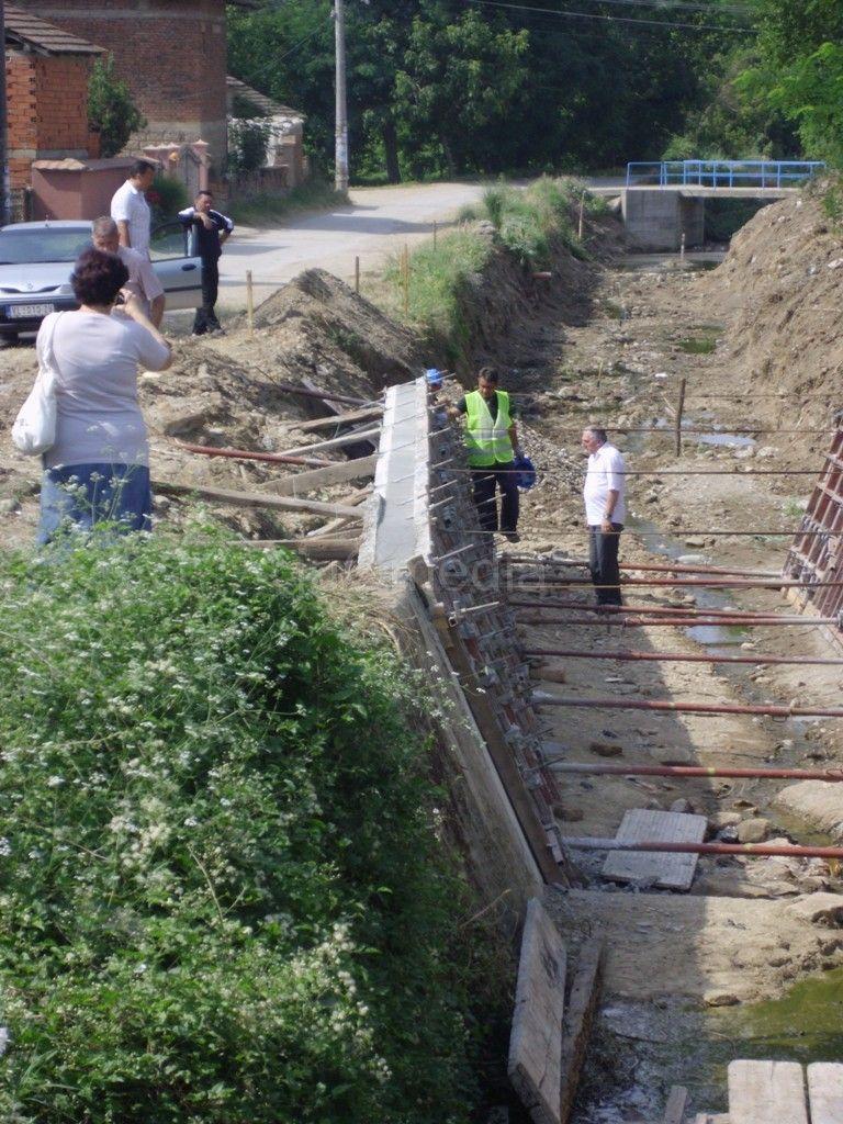 5,5 miliona dinara za sređivanje Skrapeškog potoka