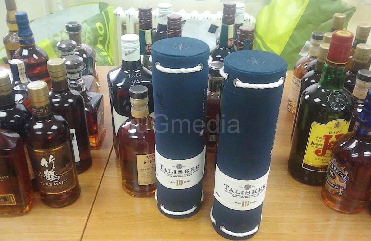 Zaplenjeno 80 flaša viskija na ''Gradini''