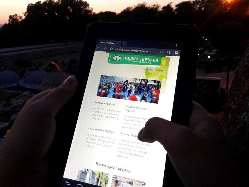 Android aplikacija pomaže turistima u Nišu