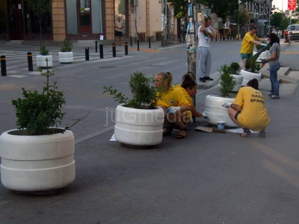 Volonteri ulepšavaju grad