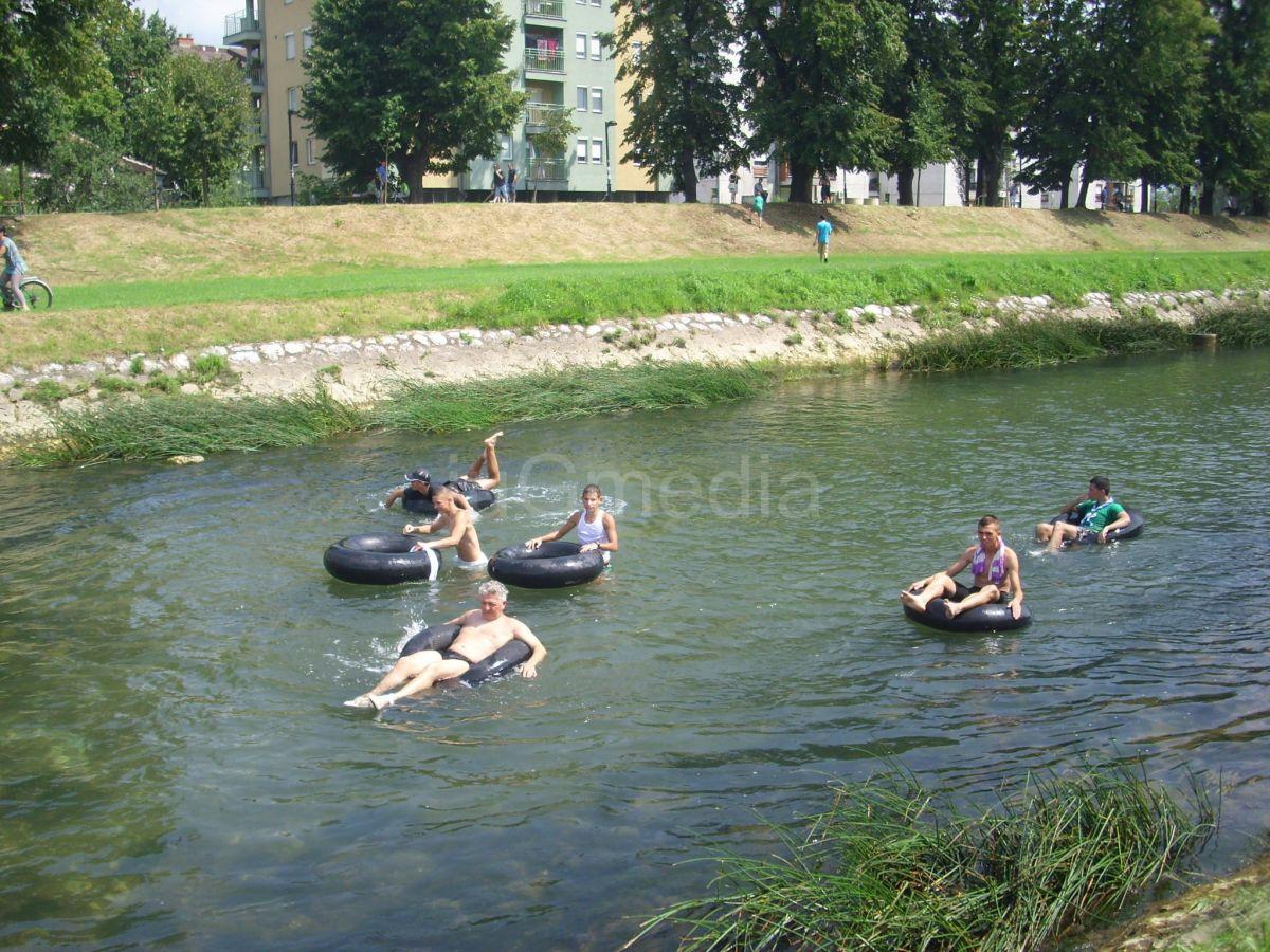 Rafting Nišavom od Kupališta do centra Pirota