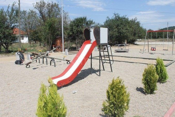 Završeno igralište u naselju Ogoš u Vranjskoj Banji
