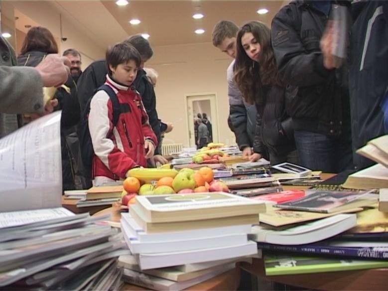 """Razmena udžbenika u udruženju """"Za naše Vranje"""""""
