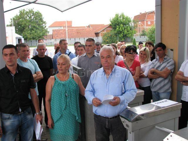 Radnici Gradske autobuske stanice u generalnom štajku