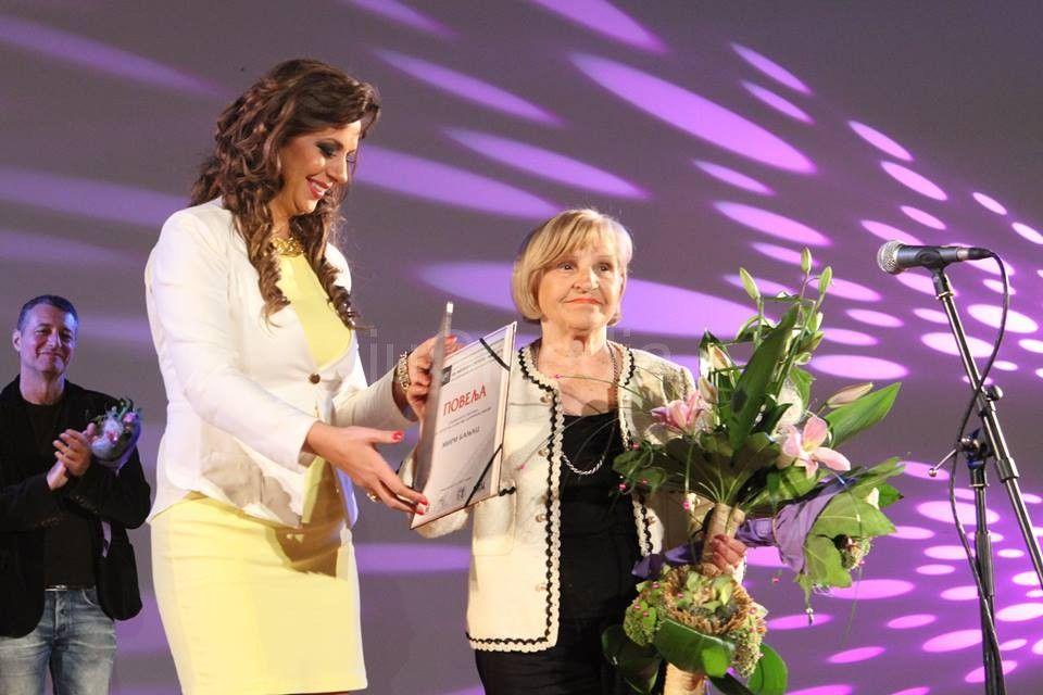 Specijalna nagrada za glumački doprinos filmu uručena Miri Banjac