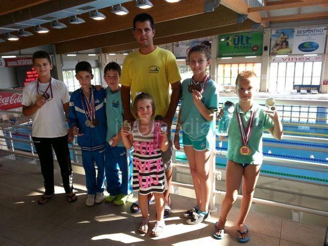 Plivanje: Viktor Dimitrijević osvojio četiri zlatne medalje