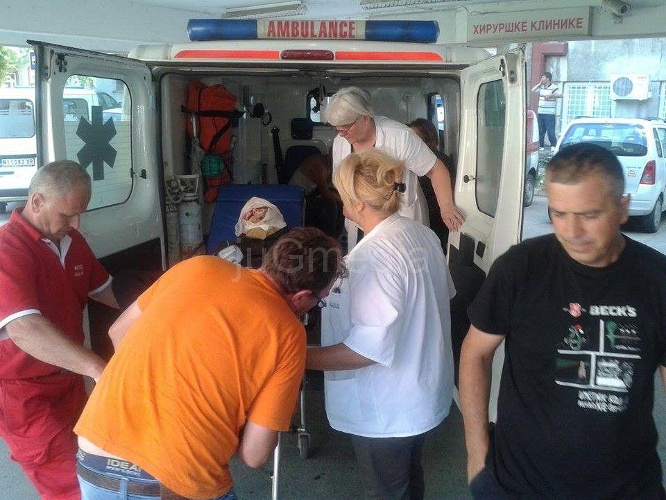 Jedna osoba podlegla povredama u Kliničkom centru