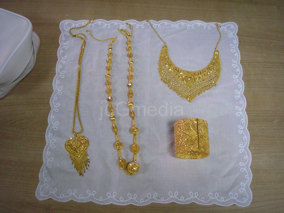 Zlatni nakit na Gradini i Preševu
