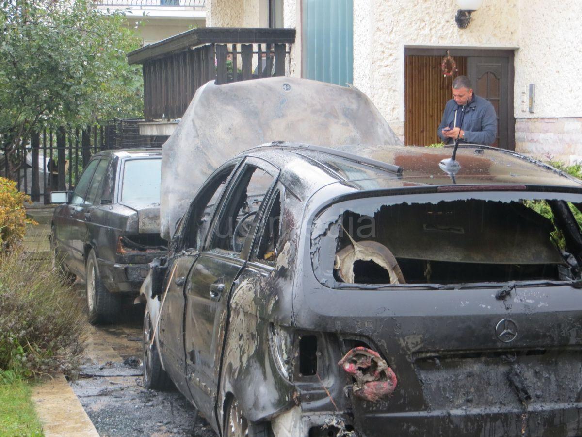 Zapaljen automobil gradskog većnika
