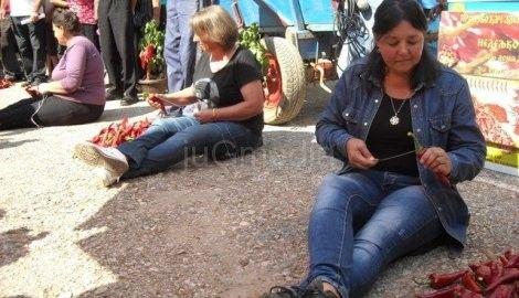 Donja Lokošnica: Vesna Milojković najbrže nanizala paprike