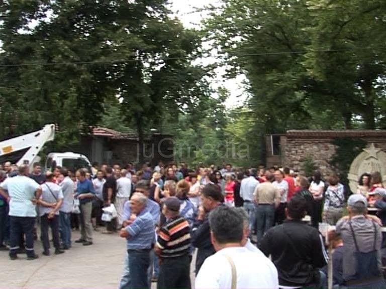 """Štrajk upozorenja radnika """"Gorice"""""""