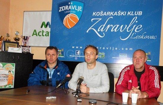 """Košarkaši """"Zdravlja"""" najavljuju još jednu pobedu u Leskovcu"""