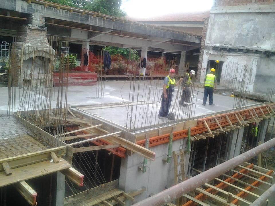 Privodi se kraju prva faza radova na izgradnji pozorišta