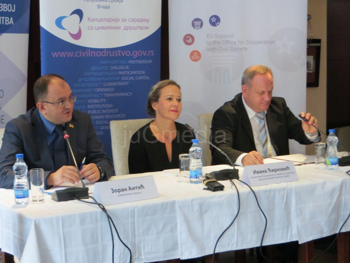 Sastanak o Nacionalnoj strategiji civilnog društva