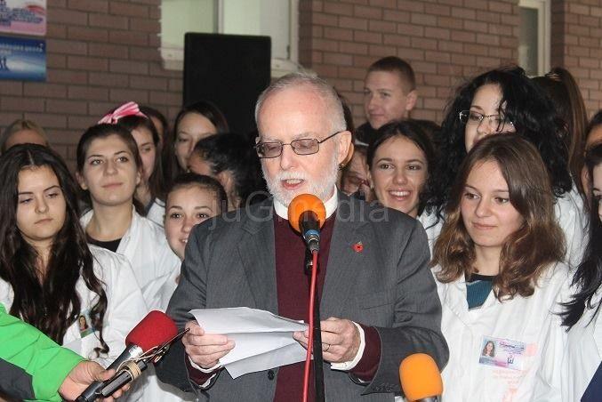 Ambasador Denis Kif danas na jugu Srbije