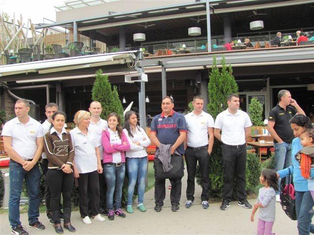 Ugostitelji u Leskovcu obustavili rad na 40 minuta