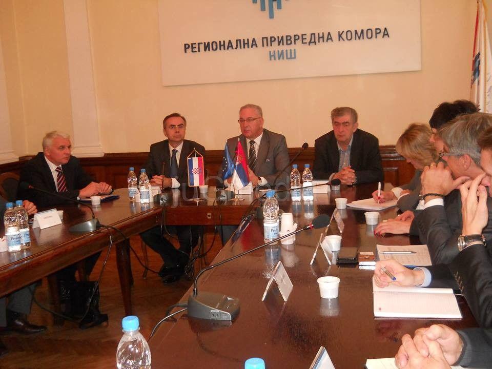Privredna delegacija Hrvatske posetila Niš