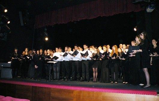Održan koncert hora Fakulteta muzičke umetnosti u Beogradu