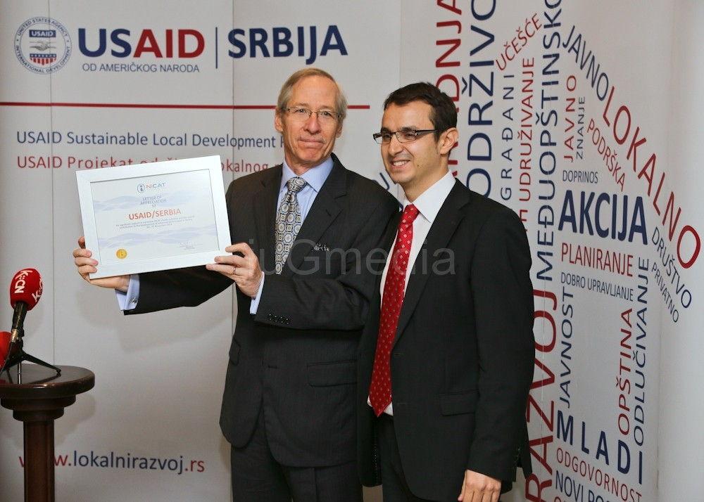 Ambasador Kirbi posetio NiCAT