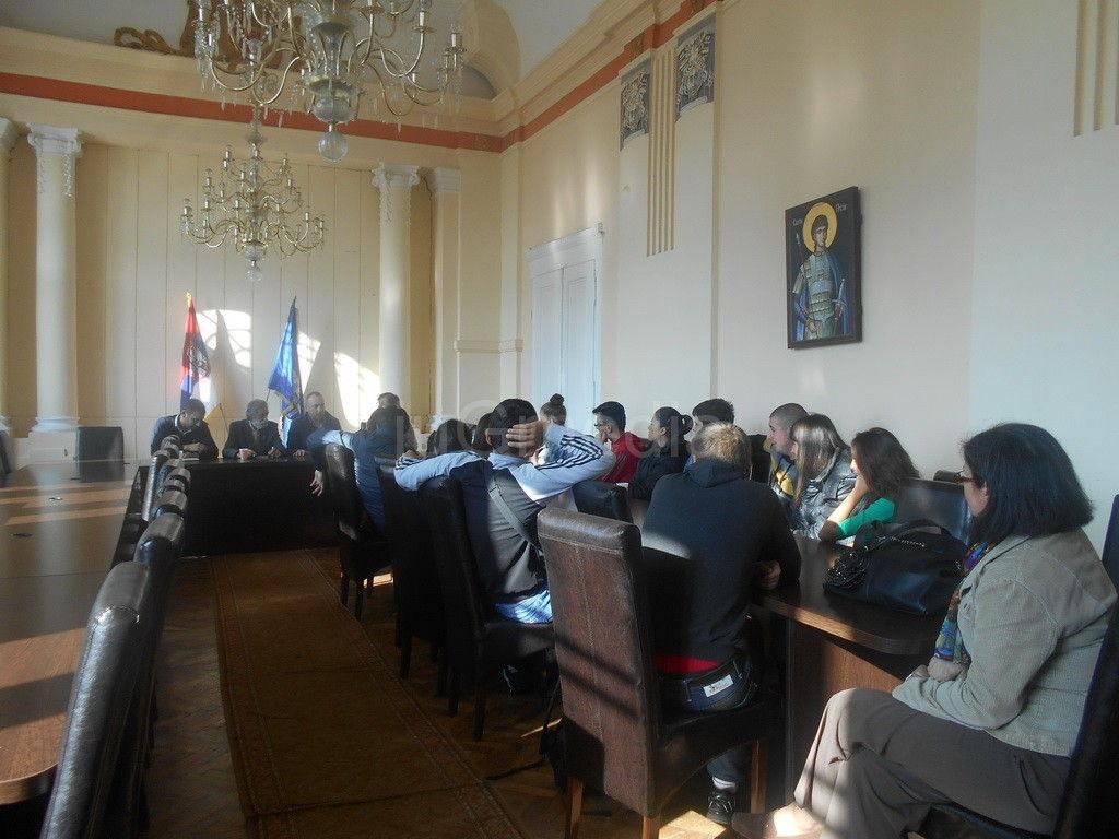 Srednjoškolci na času u opštini Prokuplje