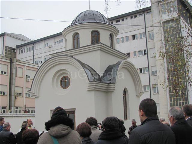 Sagrađena crkva u bolničkom dvorištu