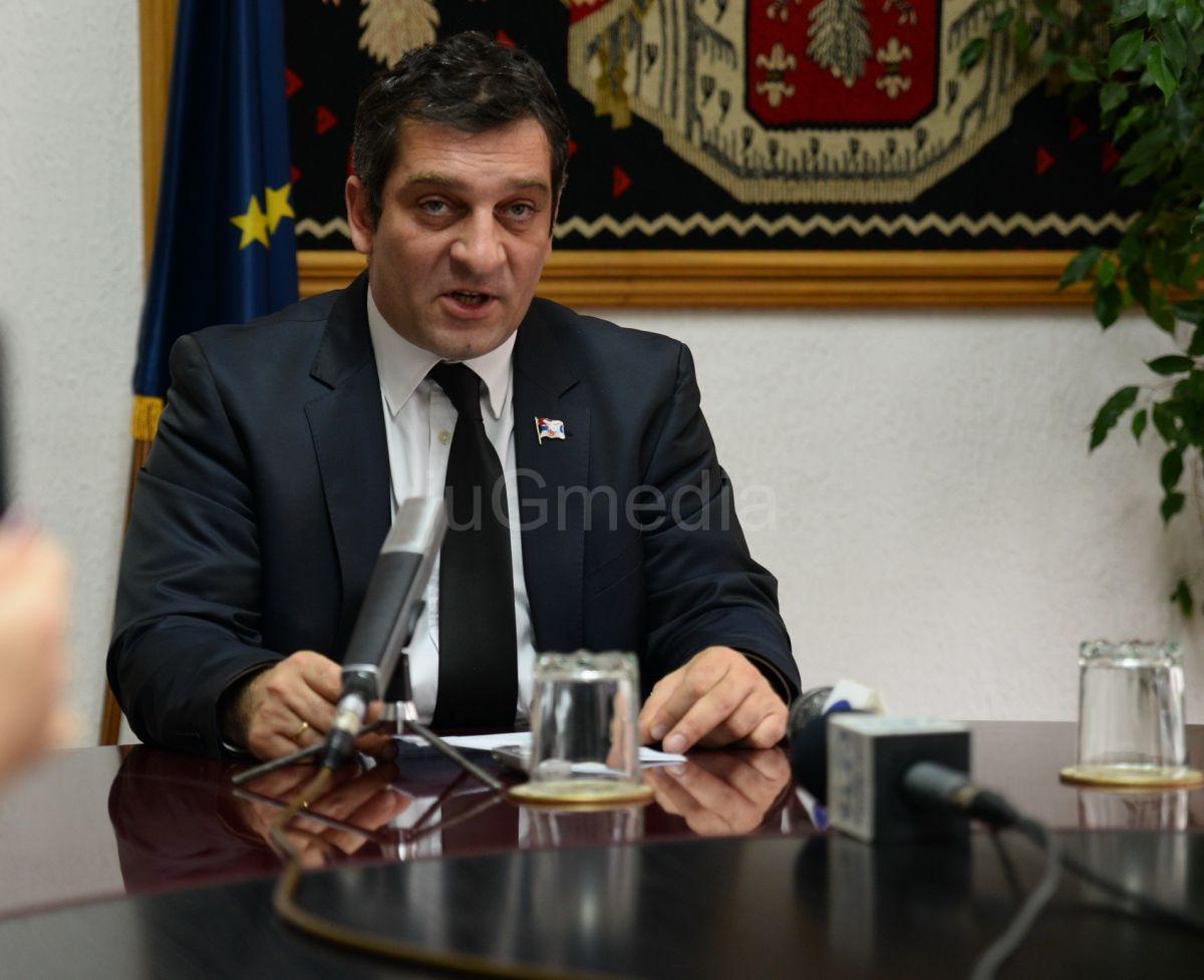 Načelnik Pirotskog upravnog okruga podneo ostavku na ovu funkciju