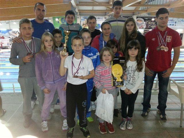 Plivači osvojili šest medalja u Kragujevcu