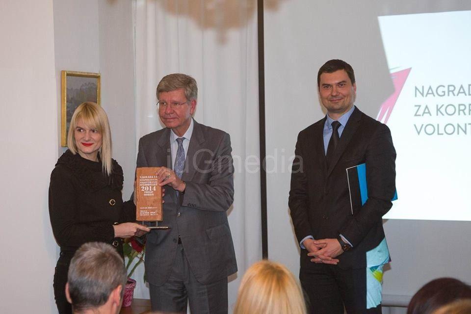"""Radnicima """"Filip Morisa"""" nagrada za volontiranje"""