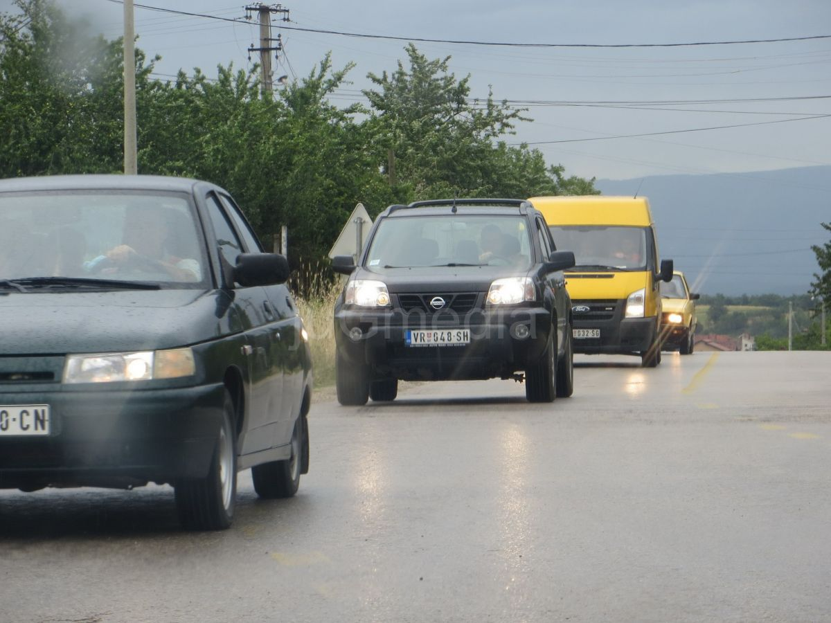 Oprez u vožnji na jugu Srbije
