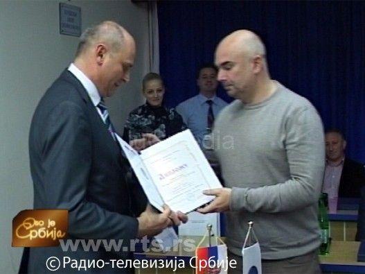 Nagrada novinaru RTS-a Srđanu Coniću