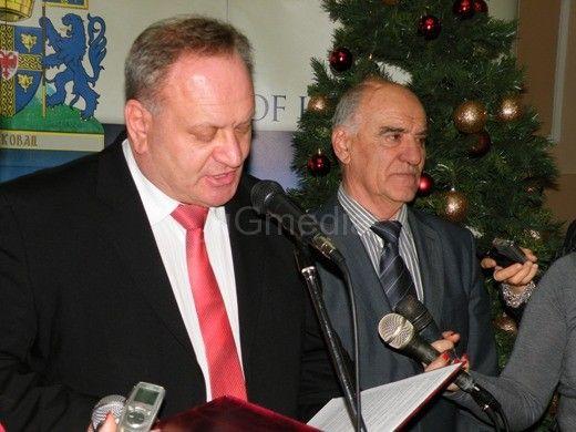 Priređen novogodišnji prijem u Skupštini grada Leskovca