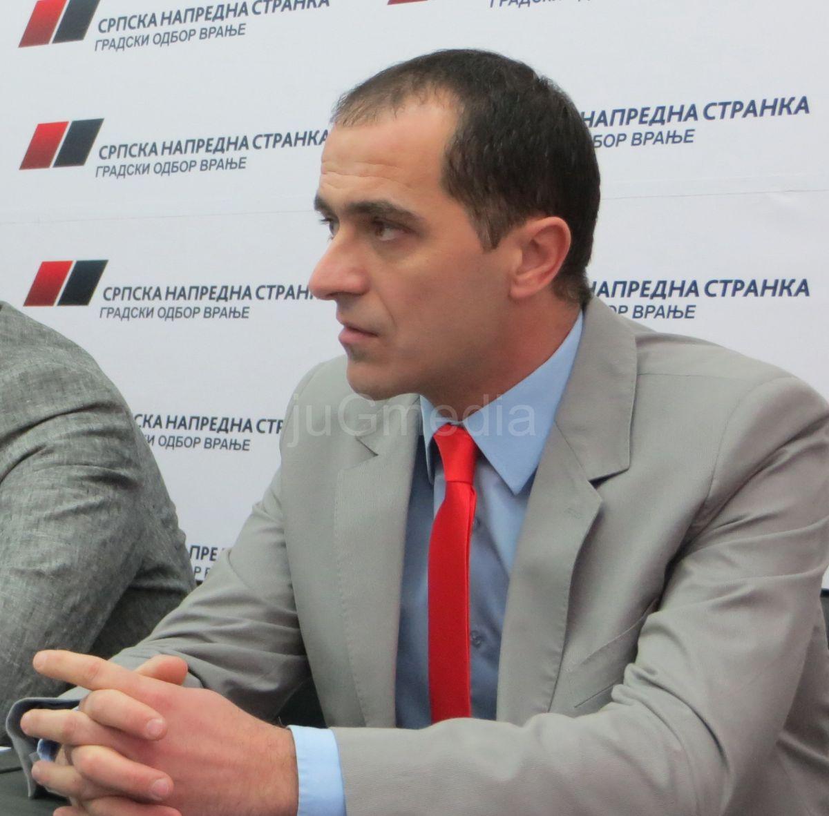 Slaviša Bulatović jedini poslanik iz Vranja