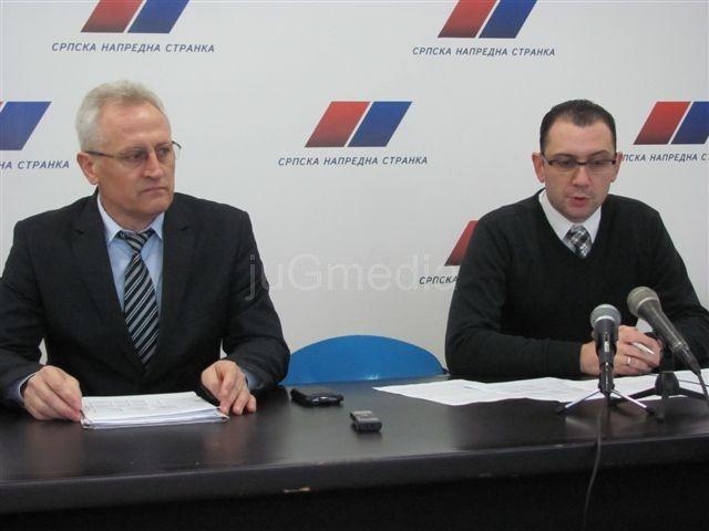 SNS traži uvođenje privremenih mera u Vlasotincu