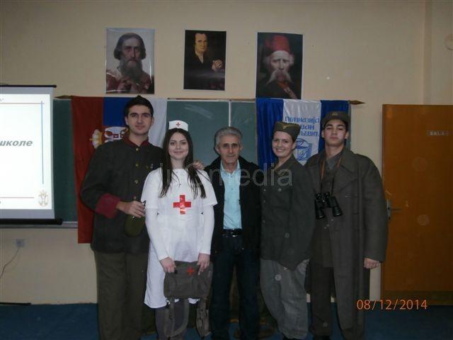 Gimnazijalci obeležavaju stogodišnjicu Prvog rata